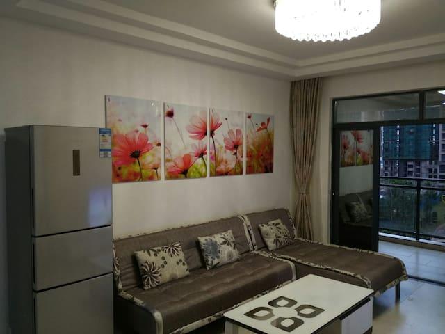 迎宾半岛度假区后海温泉小镇精装两居整套出租 - Haikou - Appartement