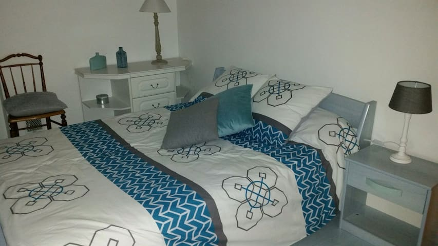 Chambre 2 pers+ SE+WC privatifs - Laval - House