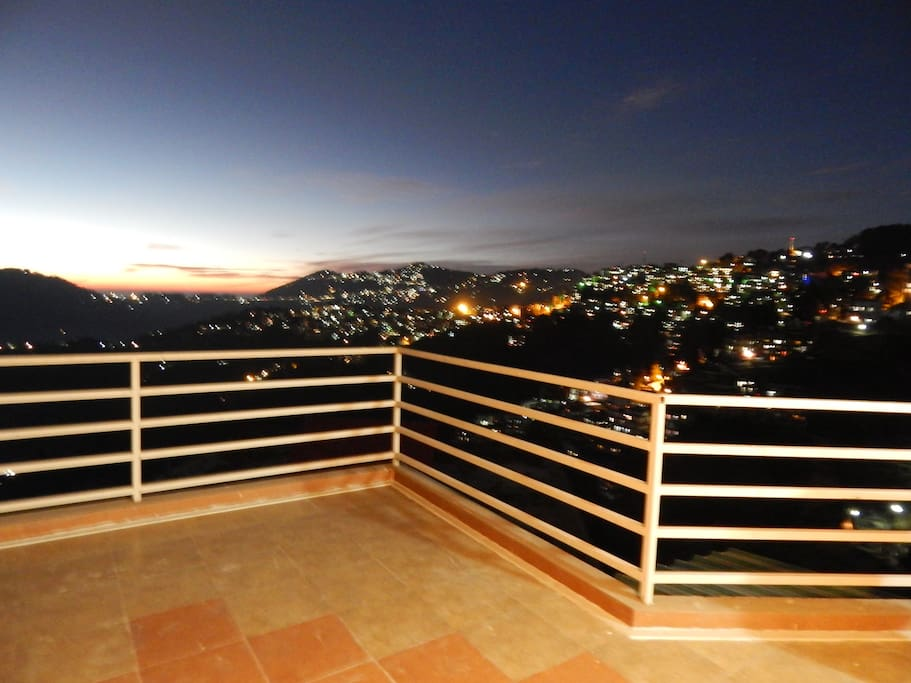 Terrace of pent house
