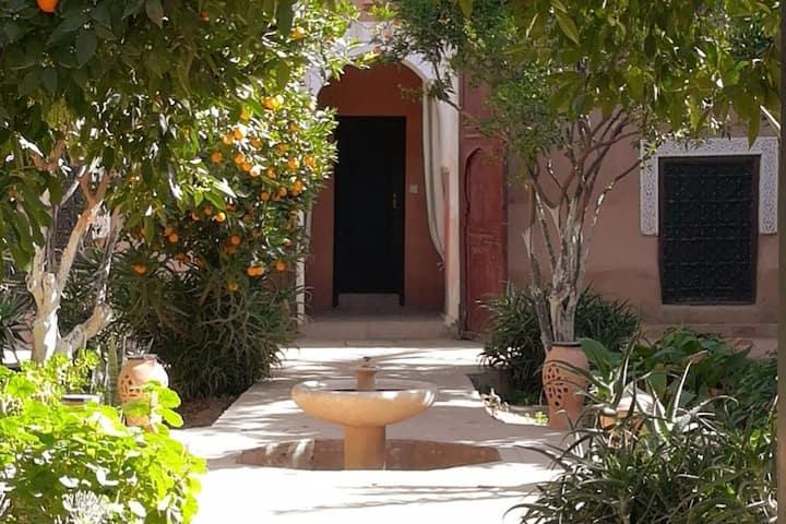 Suite familiale 6-8 patio- Riad Prestige du Souss