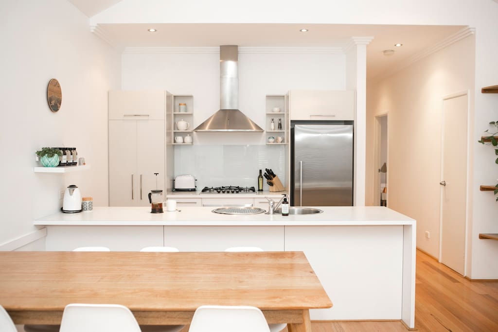 Fully self contained kitchen with everything you need