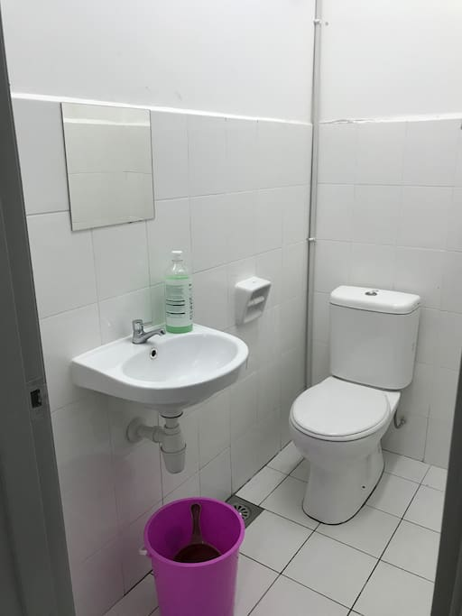 One of the toilets