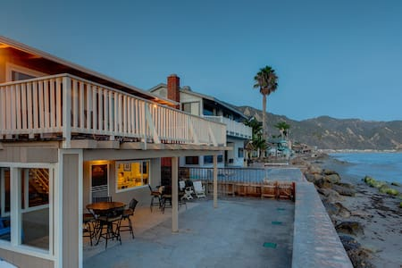 Waters Edge Cottage at Faria Beach - Ventura - House