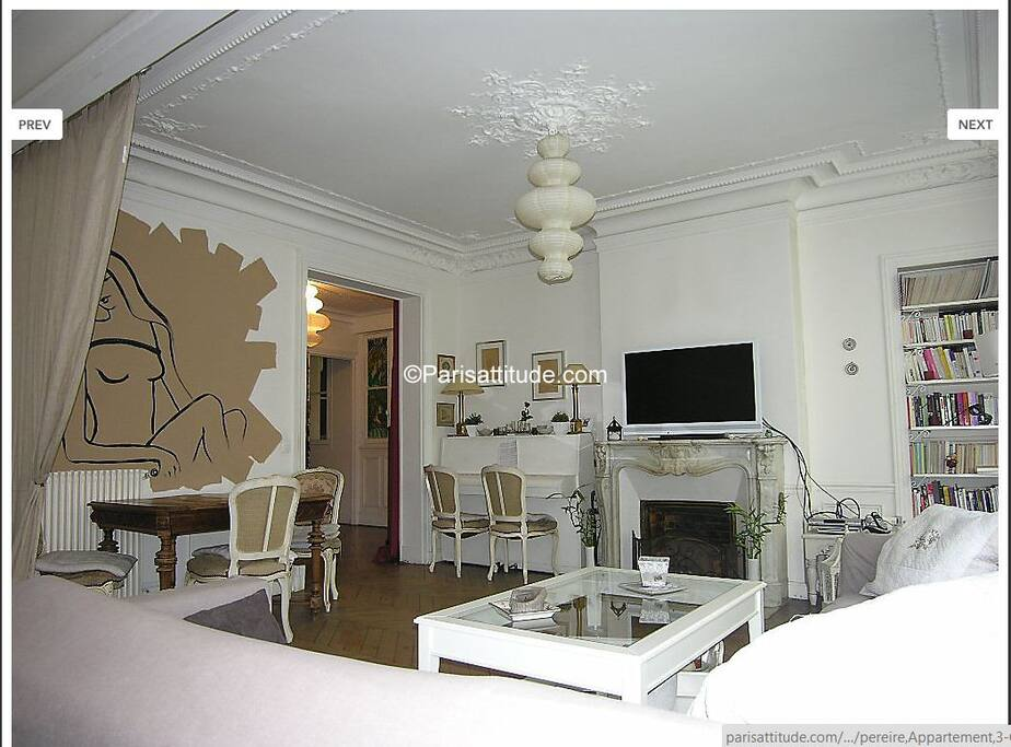 Salon de l'appartement