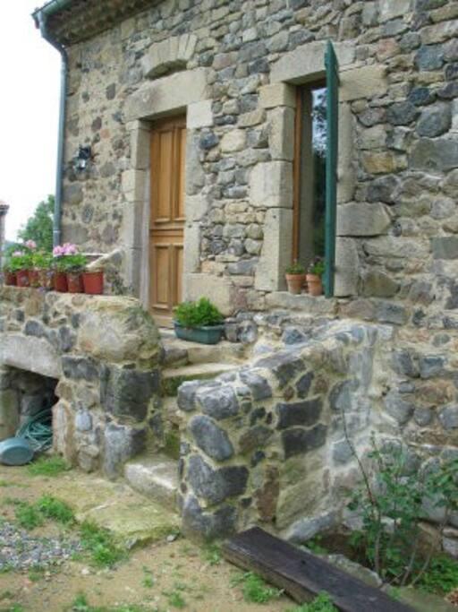 dans une ancienne maison du XVème siècle