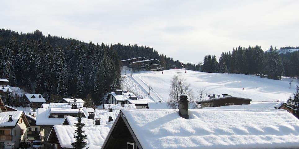 Ski-in/ski-out self catered studio apartment