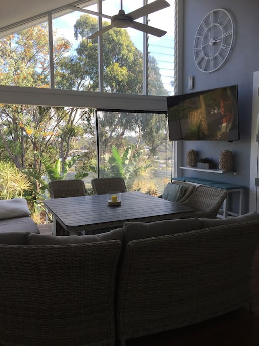 TV on back Deck