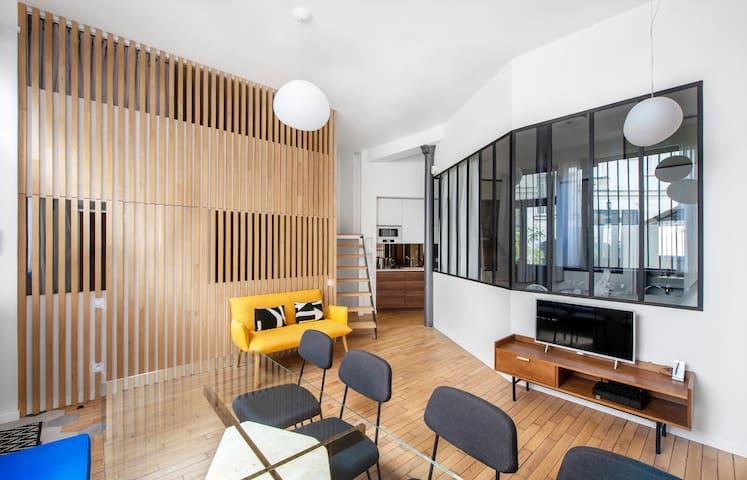 Paris Very Center (Marais Area), Trendy & Luxury: 4 bedrooms, 2.5 bathrooms