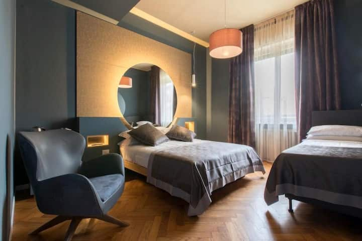 Junior suite con bagno privato nel cuore di Milano