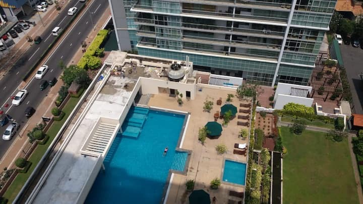 Crescat luxury apartment in the heart of Colombo