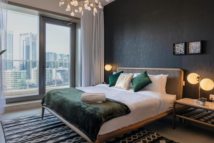 Stella Stays | Stylish 1 BDR | Dubai JBR| Beach | Netflix
