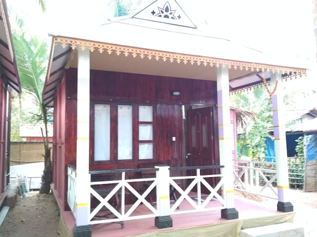 Kerala Style Beach Hut at Patnem beach 5