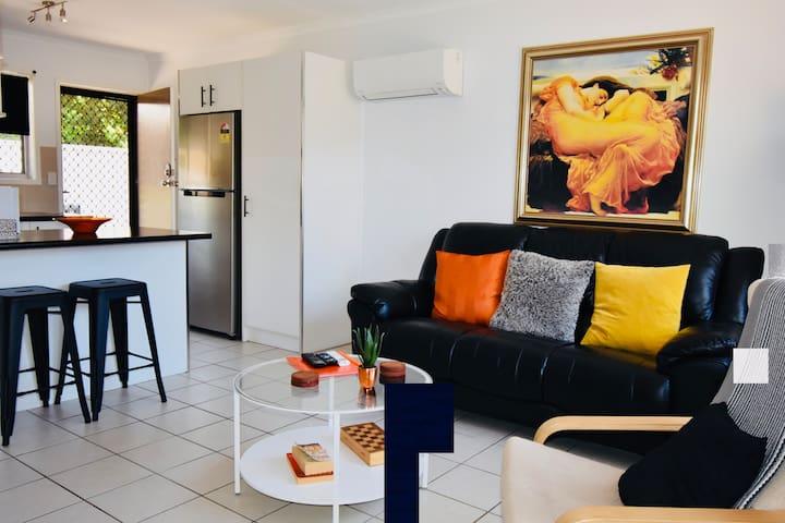 Flaming June Apartment