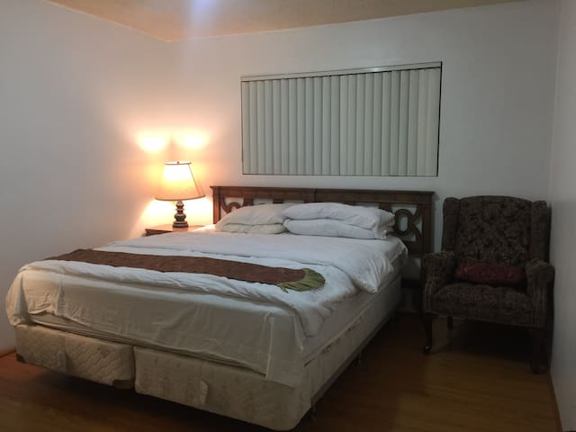 7E  Comfy Room In Long Stay LA/Months or More - San Gabriel - Wohnung