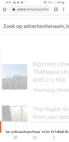 Big Room close to TheHague University and Ln v NOI