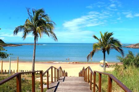 Apartamento na orla da Praia de PERACANGA