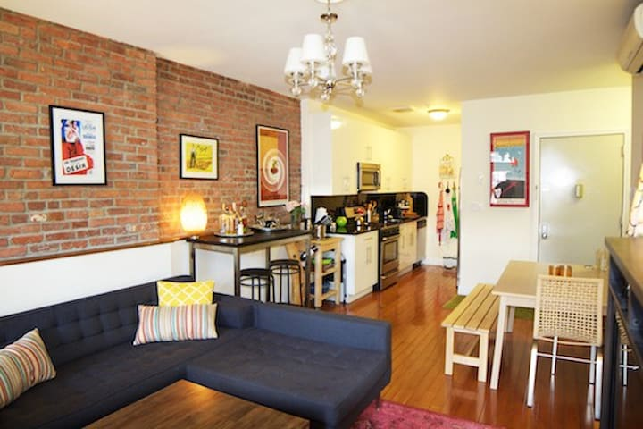 Modern Comfort in Upscale Brooklyn! - Brooklyn - Appartement
