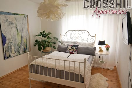 CROSSHILL Appartements | Charmante & helle Wohnung