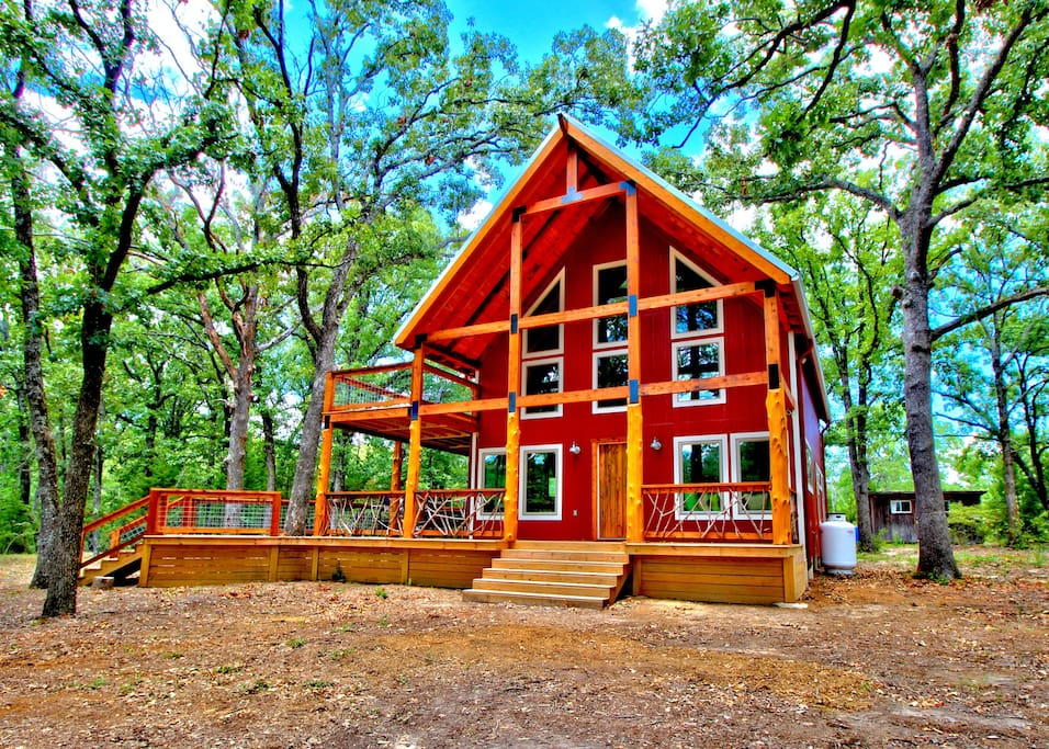 Amazing Cabin On 130 Secluded Acres Cabins For Rent In