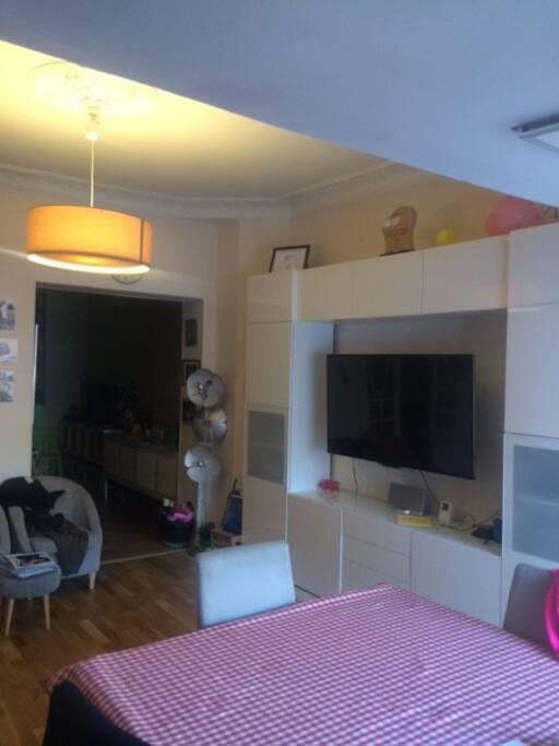 Le salon et le boudoir