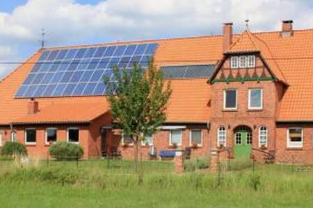 Moderne Wohnung in 150-jähr. Bauernhaus / Elbe, EG