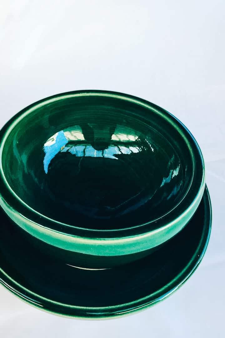 Italian Green glaze