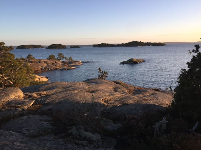 A house in the archipelago not far from StockholmC