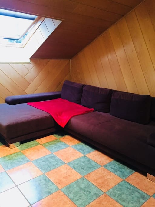 Big sofa to simply relax