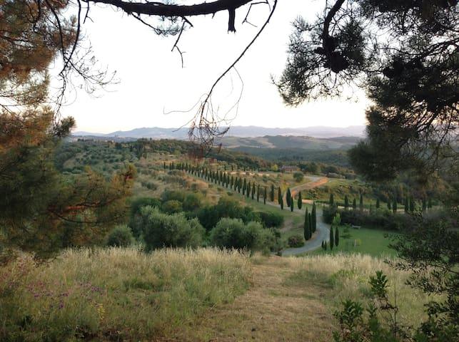 Villa sulle colline della Toscana - San Gimignano - Casa