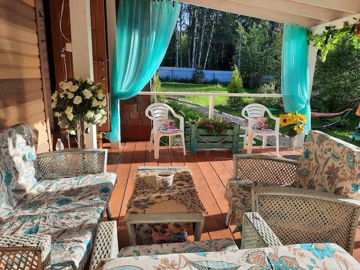 дом для отпуска Солнечный 13