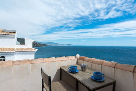 Buenavista: stunning seaviews, swim, spa, sun - 阿尔穆涅卡 - 独立屋