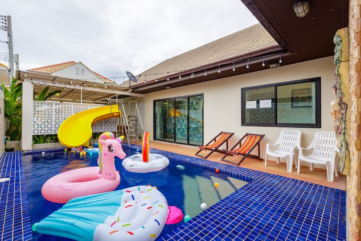 Jasmine House Pool villa / shopping centre 5minute