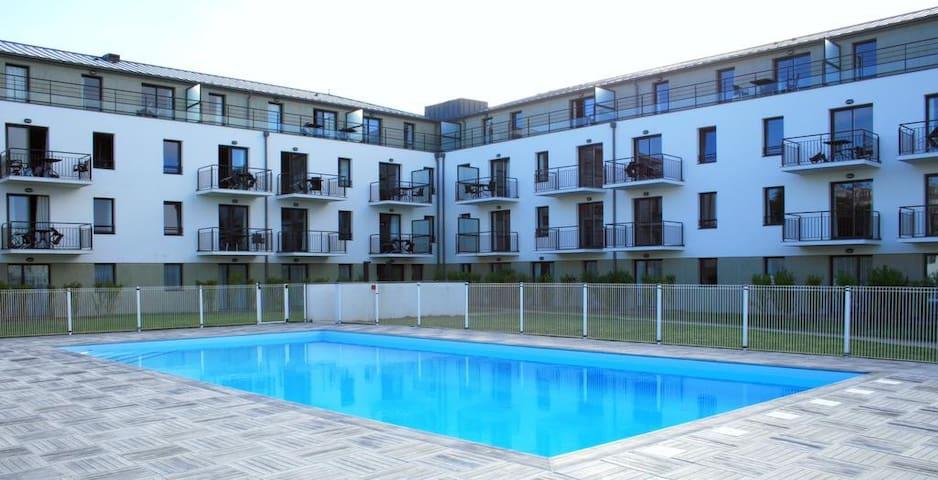 Appartement T2 neuf, à 50m de la plage