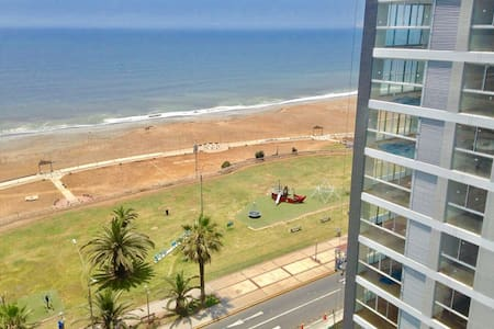 Best Ocean View Beachfront Condo close to airport! - Lima
