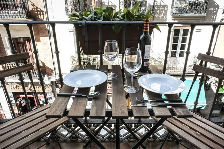 Apartamento con encanto en Madrid de los Austrias