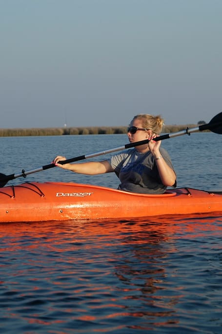 Kayak on the OBX