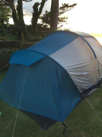 Tente Camping les Hortensias - Plestin-les-Grèves - Telt