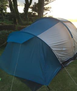 Tente Camping les Hortensias - Plestin-les-Grèves - Barraca