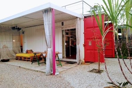 Container Suite with Kitchen Ubatuba Lagoinha