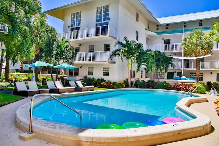 NICE 1BR/1BA KEY BISCAYNE LOFT, STEPS TO THE BEACH - Key Biscayne - Apartamento