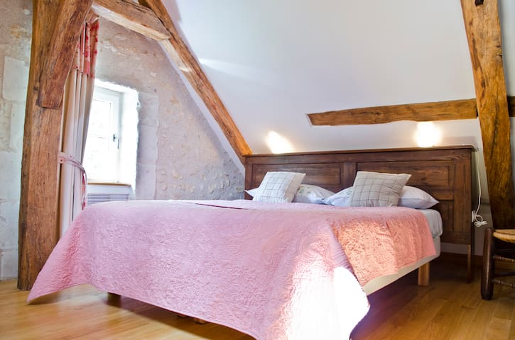 la HERAUDIERE 2 - chambre Ronsard - Tours - Bed & Breakfast