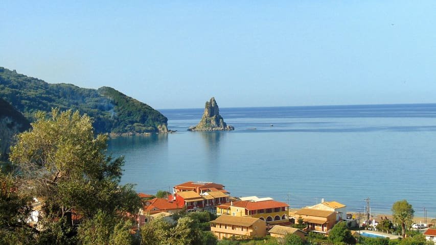 SeaView Hotel Room for 3p, Free pick-up& Breakfast - Corfu