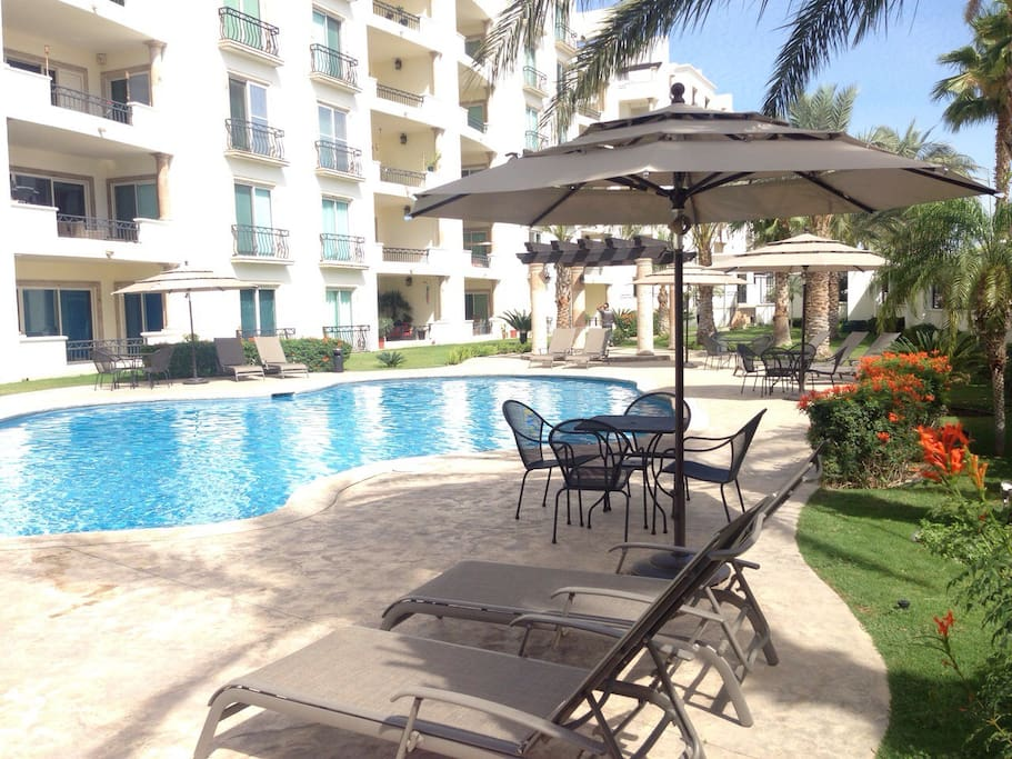 Private, gated 24-hr secure gated community, 2 communal pools and more!