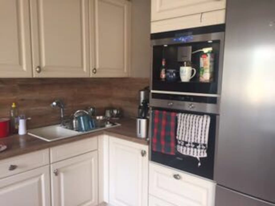 Küche & Kaffeemaschine zur Mitbenutzung