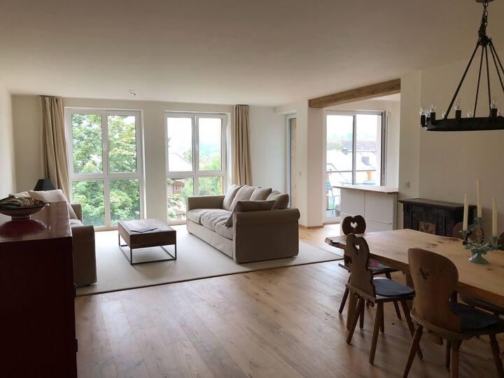 Bad Hofgastein,sonnige Wohnung mitBergblick im Ort
