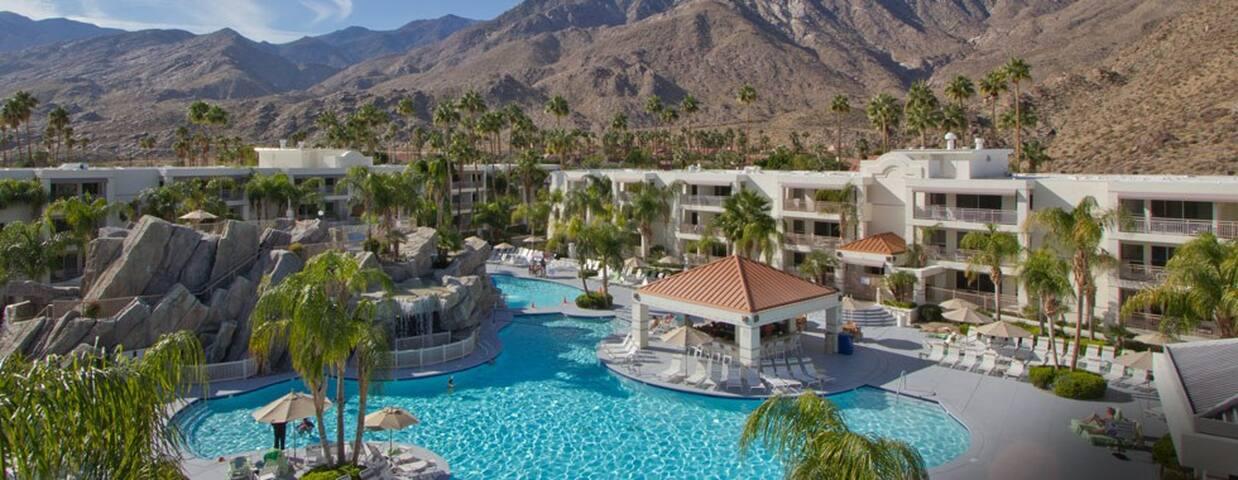 Palm Canyon Resort - Studio (Jr. Villa) - Palm Springs - Condominio
