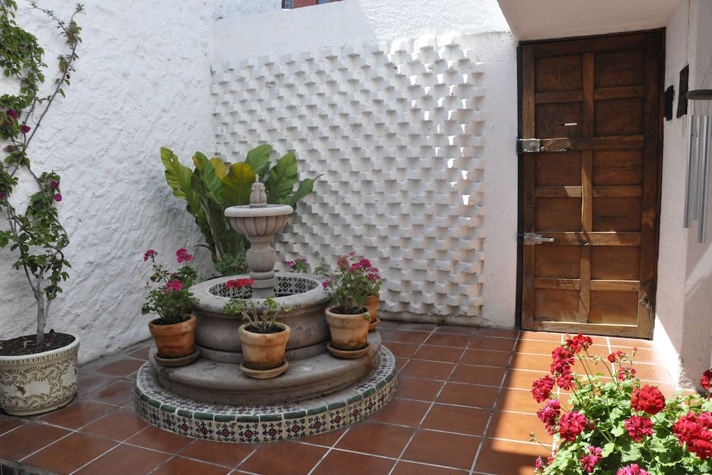 Front Courtyard