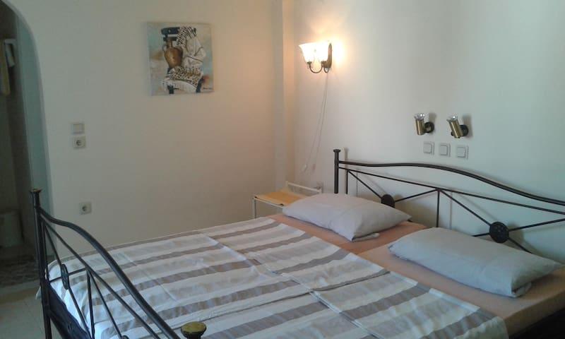 Doppelbett der Gäste