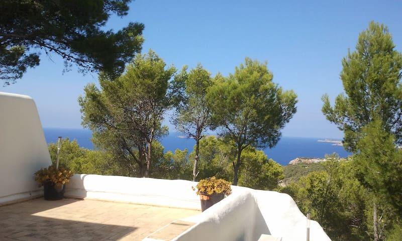 CALA VADELLA : avec très belle vue - Sant Josep de sa Talaia - Casa