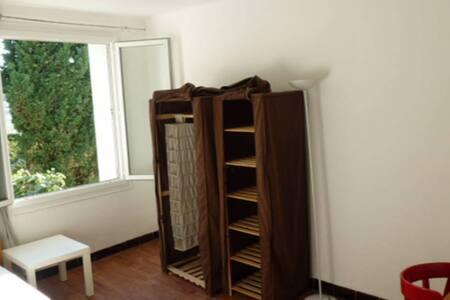 Chambre /accès terrasse sur toît